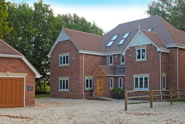 Bespoke New Build development - Bramley Hampshire