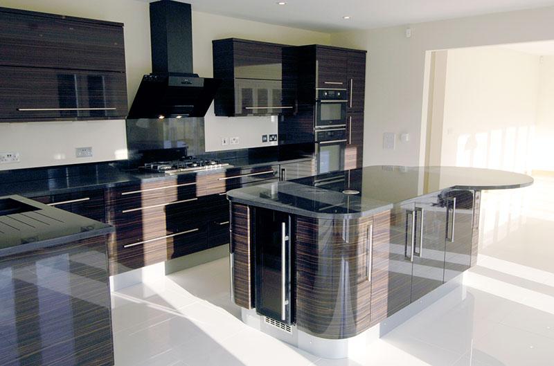 Bespoke New Build Development - Interior Design - Kitchens