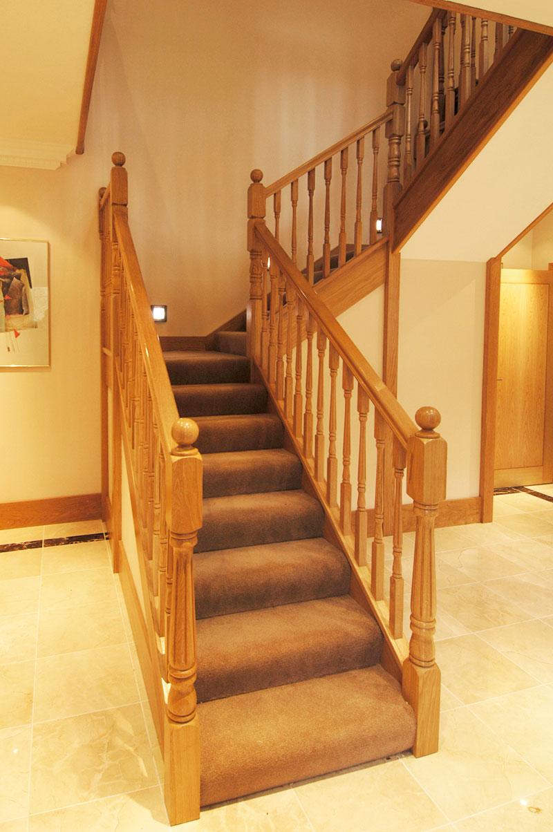 Bespoke New Build Development - Interior staircase